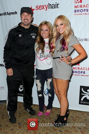 Joey Fatone, Lacey Schwimmer and Sabrina Bryan