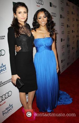 Nina Dobrev and Kat Graham The Ripple Effect Benefiting The Water Project Charity held at Sunset Luxe Hotel Los Angeles,...