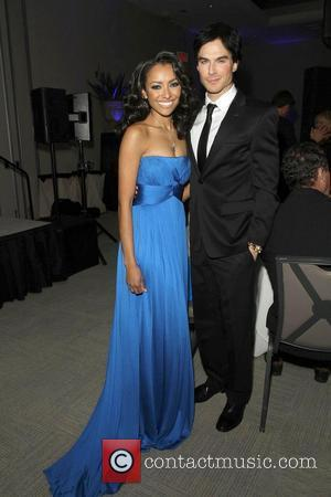 Kat Graham and Ian Somerhalder The Ripple Effect Benefiting The Water Project Charity held at Sunset Luxe Hotel - Inside...