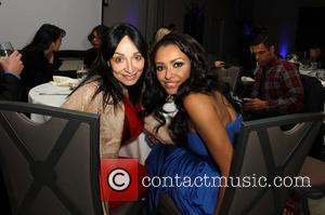 Kat Graham with her mother Natasha The Ripple Effect Benefiting The Water Project Charity held at Sunset Luxe Hotel -...