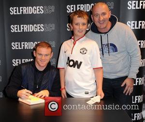 Wayne Rooney and Selfridges