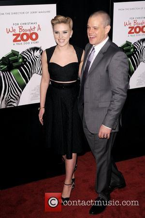 Scarlett Johansson and Matt Damon