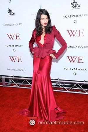 Crystal Renn New York premiere of 'W.E.' at the Ziegfeld Theatre - Arrivals 23.01.12 New York NY