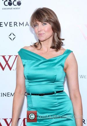 Lucy Lawless and Ziegfeld Theatre