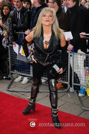Sam Fox 'We Will Rock You' 10th year anniversary performance - arrivals London, England - 14.05.12