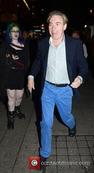 Andrew Lloyd Webber at the 'We Will Rock You' 10th year anniversary performance at the Dominion Theatre - Departures. London,...