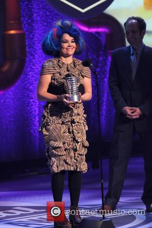 Bjork  The 16th Annual Webby Awards - Inside New York City, USA - 21.05.12