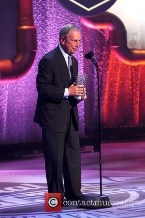 Mayor Michael Bloomberg  The 16th Annual Webby Awards - Inside New York City, USA - 21.05.12