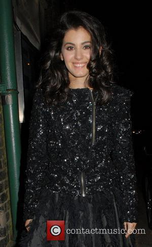 Katie Melua,  at the Weekend Wogan: Christmas Special Concert. London, England - 05.12.11
