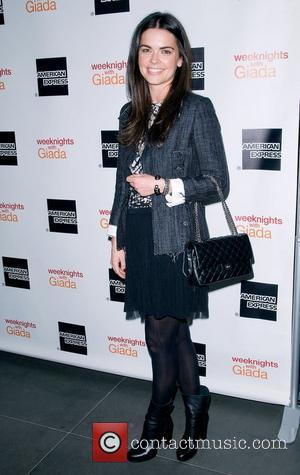 Katie Lee at the ''Weeknights with Giada' book launch party. New York City, USA - 26.03.12