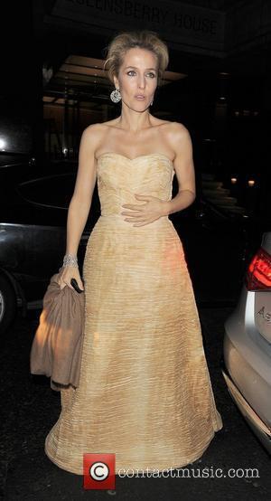 Gillian Anderson, Harvey Weinstein and Bafta