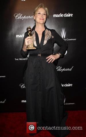 Meryl Streep and Beverly Hilton Hotel