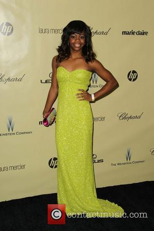 Gabby Douglas The Weinstein Company's 2013 Golden Globe Awards Party  Featuring: Gabby Douglas Where: Beverly Hills, California, United States...