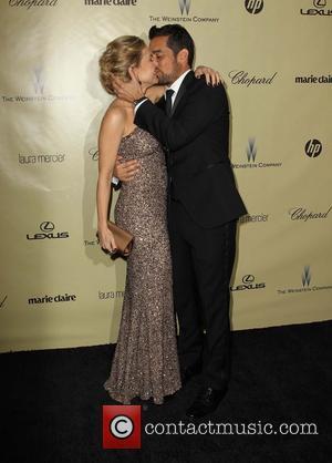 Julie Benz and Rich Orosco