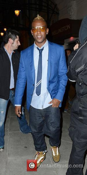 Oritse Williams of JLS,  at the Diamond Jubilee concert afterparty at the Wellington Club. London, England - 05.06.12