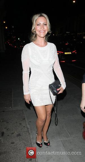 Heidi Range,  at Dean Piper's birthday party at the Wellington Club London, England - 21.06.12
