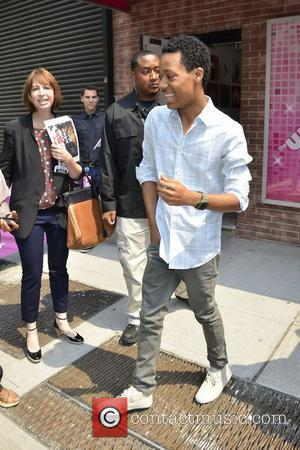 Tyler James Williams Celebrities arriving at the Wendy William Show New York City, USA - 11.06.12