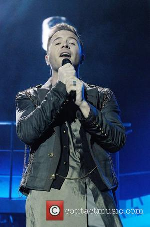 Shane Filan of Westlife performs on stage at the 02 Arena. London, England -12.05.12
