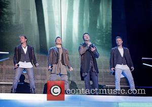 Kian Egan, Nicky Byrne and Liverpool Echo Arena