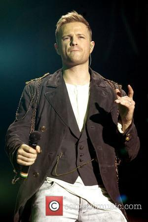 Nicky Byrne of Westlife performs live on stage at the SECC during their 'Greatest Hits - Farewell Tour' Glasgow, Scotland...