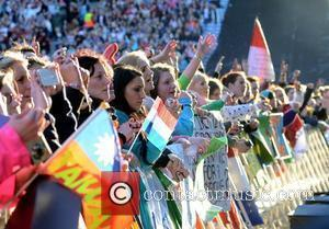 Westlife fans  The final ever performance of record breaking boyband Westlife at Croke Park Dublin, Ireland - 22.06.12