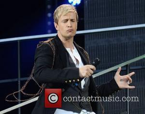 Westlife (Kian Egan)  The final ever performance of record breaking boyband Westlife at Croke Park Dublin, Ireland - 22.06.12
