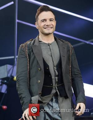 Westlife (Shane Filan)  The final ever performance of record breaking boyband Westlife at Croke Park Dublin, Ireland - 22.06.12