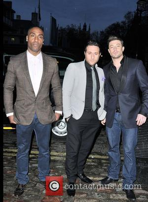 Simon Webbe, Antony Costa and Duncan James