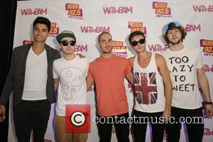 Siva Kaneswaran, Nathan Sykes, Max George, Tom Parker, and Jay McGuiness of The Wanted  KissFM 92.5 Wham Bam 2012,...