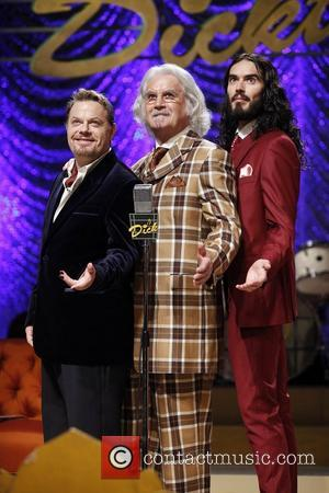Eddie Izzard, Russell Brand and Billy Connolly