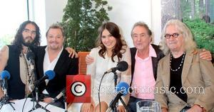 Russell Brand, Eddie Izzard, Sophie Winkleman, Eric Idle, Billy Connolly  at the presscall for 'What About Dick?' held at...