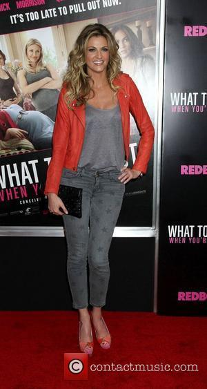 Erin Andrews  Screening of 'What To Expect When You're Expecting, held at AMC Lincoln Square - Arrivals New York...