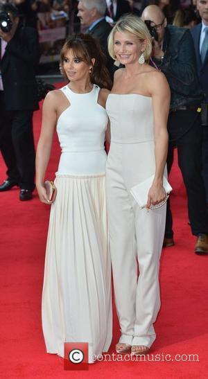 Cameron Diaz and Cheryl Cole