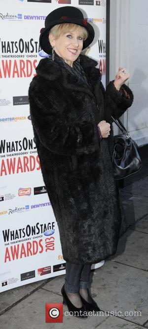 Anita Dobson Whatsonstage.com Awards Concert launch party held at Cafe de Paris - Arrivals London, England - 07.12.12