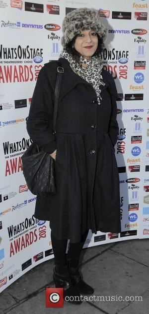 Meera Syal Whatsonstage.com Awards Concert launch party held at Cafe de Paris - Arrivals London, England - 07.12.12