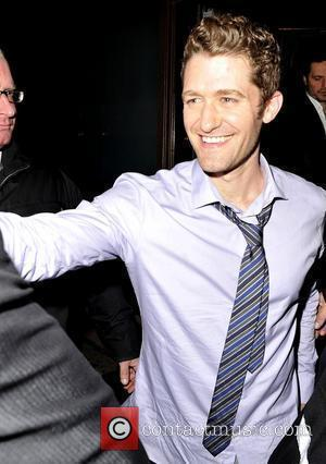 Glee star, Matthew Morrison leaving Whisky Mist at 3am in the morning. London, England - 23.05.12