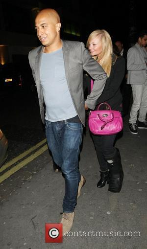 Jade Jones and Emma Bunton Celebrities outside Whisky Mist club London, England - 13.06.12