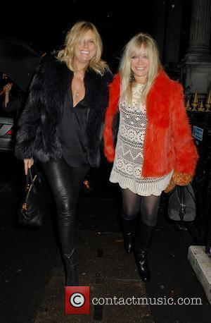 Jo Wood,  at the Whisper Gallery. London, England - 08.12.11