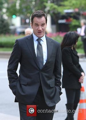 Tim Dekay films scenes for USA Network's drama series 'White Collar' New York City, USA - 27.04.12