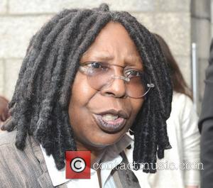 Whoopi Goldberg receives the Gold Honorary Medal of Patronage from Trinity College Philosophical Society, Dublin, Ireland - 19.09.12.