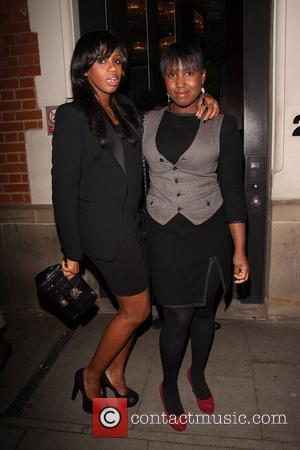 Shaznay Lewis, Michelle Collins  The WIE (Women: Inspiration and Enterprise) Awards - Departures London, England - 08.03.12