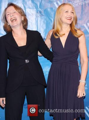 Kate Burton and Patricia Clarkson  at the Williamstown Theatre Festival's 2012 Benefit, held at the Edison Ballroom - Arrivals...