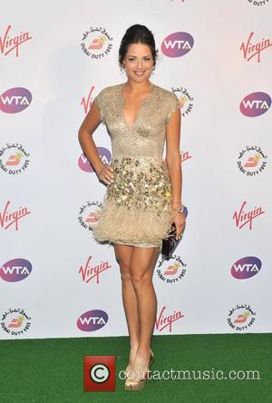 Ana Ivanovic Sir Richard Branson's Pre-Wimbledon Party held at The Roof Gardens - Arrivals. London, England - 21.06.12