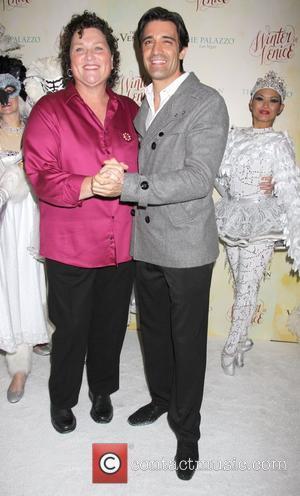 Dot Marie Jones and Gilles Marini