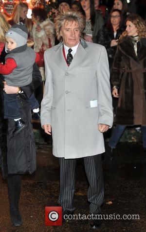Rod Stewart Hyde Park Winter Wonderland - launch party. London, England - 22.11.12