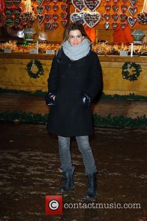 Linda Papadopoulos Hyde Park Winter Wonderland - launch party. London, England - 22.11.12