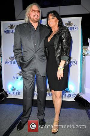 Barry Gibb and Linda Gibb 2011 Winterfest Boat Parade VIP Party at the Seminole Hard Rock Hotel and Casino Miami,...