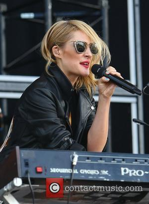 Emily Haines of Metric Barclaycard Wireless Festival 2012 - Day 1 London, England - 06.07.12