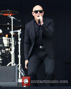 Pitbull  Barclaycard Wireless Festival 2012 - Day 3  London, England - 08.07.12