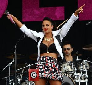 Tulisa Contostavlos and Wireless Festival
